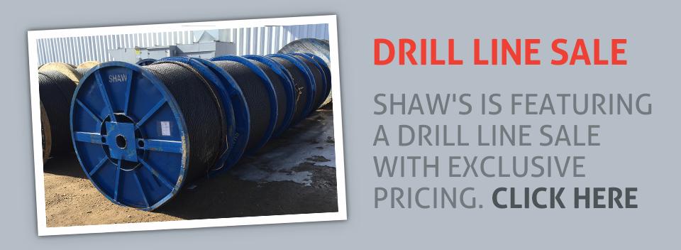 Drill Line Sale